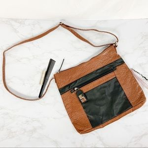 Marc Fisher brown and black purse/Crossbody